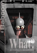 """""""WHAT? Alternate Realities"""" - Babcom - Issue 12"""