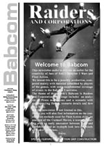 """Raiders and Corporations"" - Babcom - Issue 1"