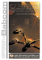 """""""Carrier Ops & Fighter Tactics"""" - Babcom - Issue 2"""