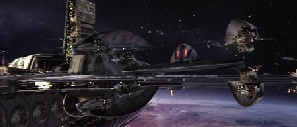 Trade Federation Vulture II Droid Fighter